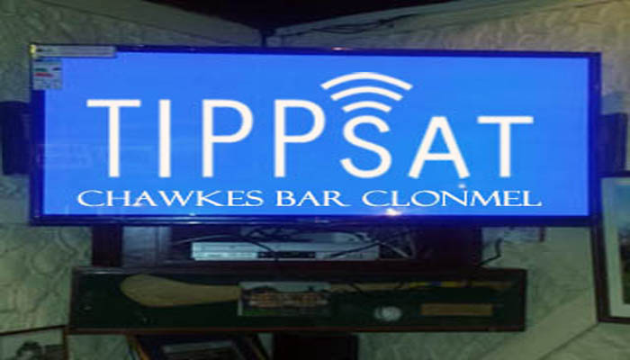 Tv system installed in Chawkes Bar Clonmel
